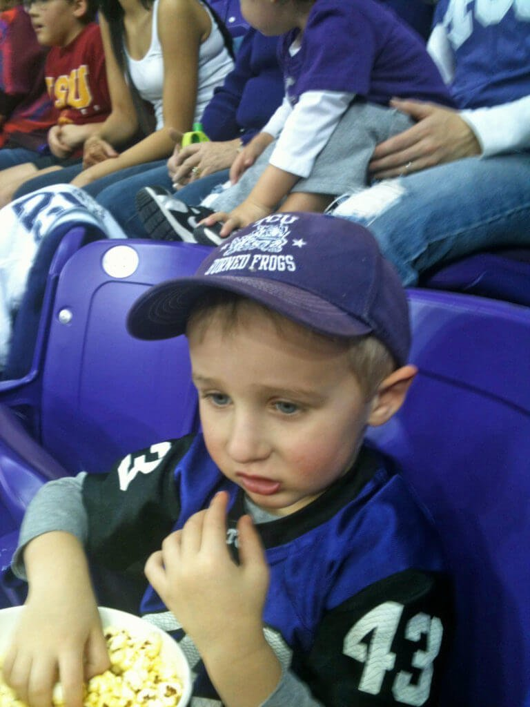 Fort Worth with kids should include a TCU sporting event.