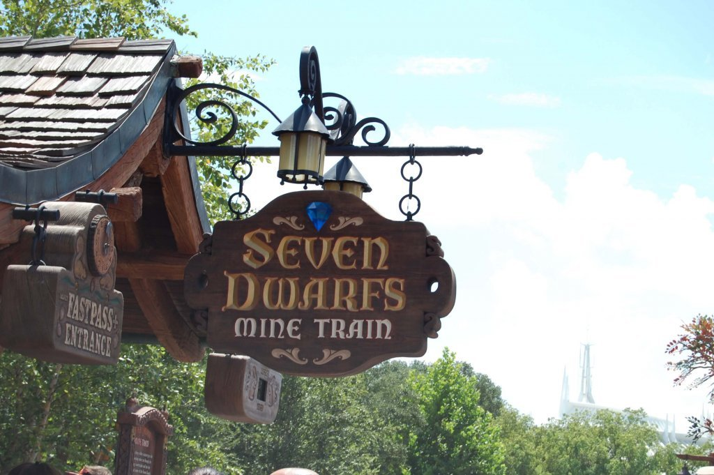 Disney World Fastpass+ at Seven Dwarfs Mine Train