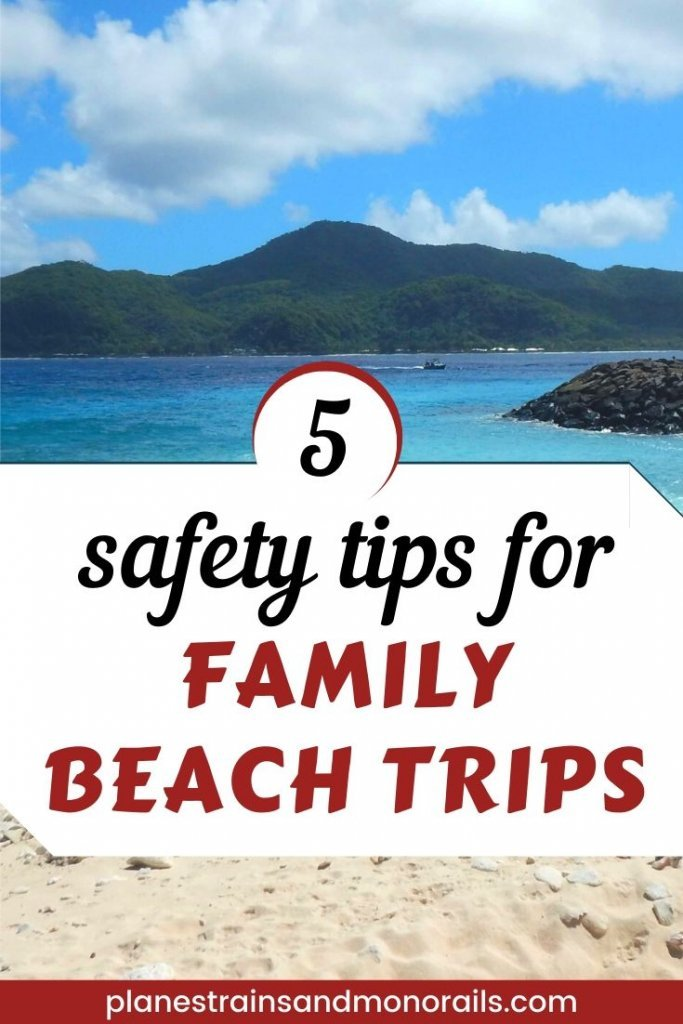 safety tips for beach trips
