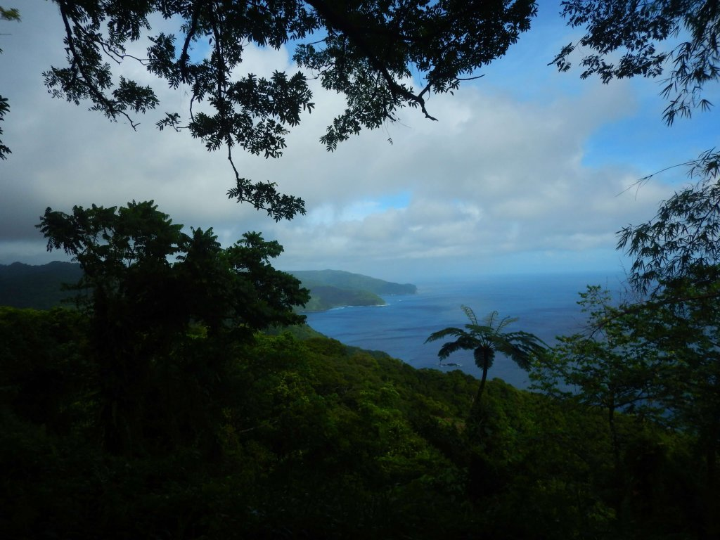 Hiking in American Samoa will reward you with gorgeous views.