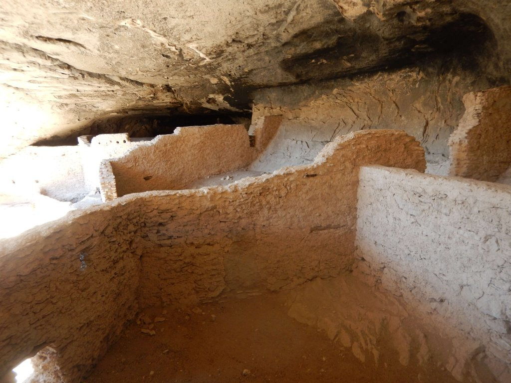 A look into some of the rooms in the Gila Cliff Dwellings