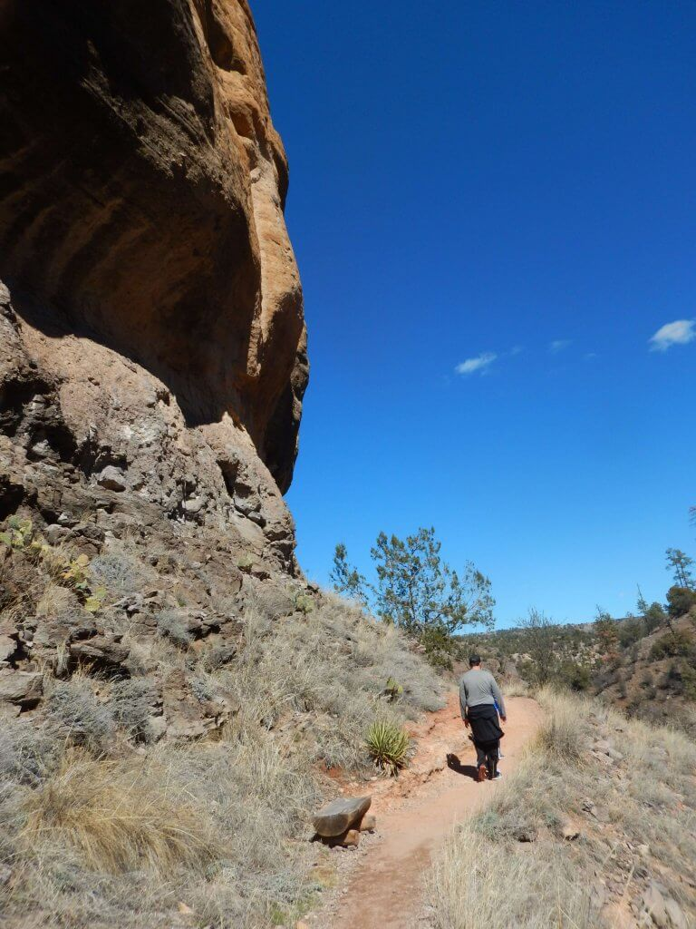 Hiking is one of the things to do in Silver City