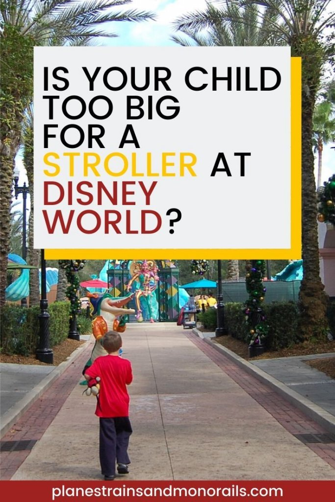do you need a stroller at Disney World?