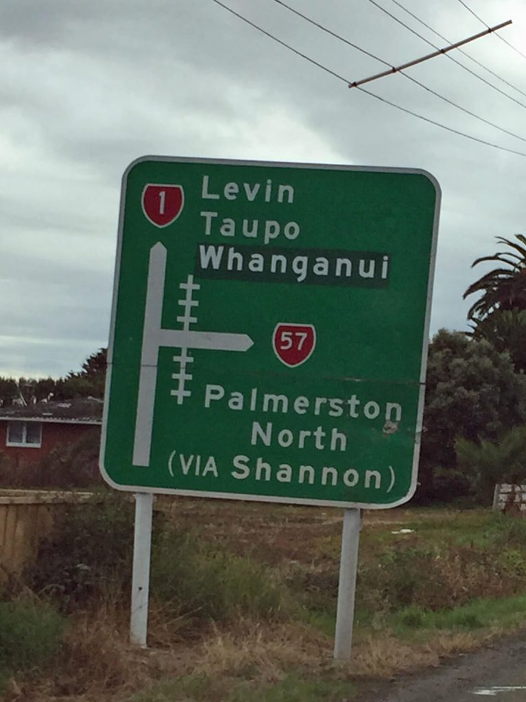 a New Zealand traffic sign
